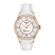 天梭Tissot手表杜鲁尔系列时尚机械女士手表 T099.207.36.118.00