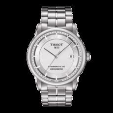 Tissot 天梭豪致系列天文台认证款钢带80机芯机械男表 T0864081103100