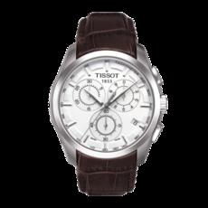 Tissot 天梭库图系列皮带石英男表 T0356171603100