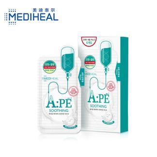 美迪惠尔(MediHeal)APE舒缓抗皱紧致乳液护肤面膜25ml*10片