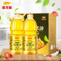 金龙鱼双一万谷维素稻米油1.8L*2 礼盒装