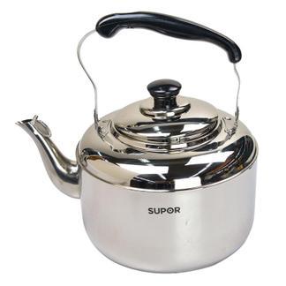 苏泊尔SS40Q1鸣音304不锈钢开水壶烧水壶电磁炉通用4L