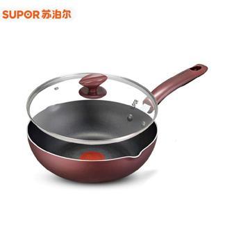 苏泊尔火红点深型煎锅(玻盖)26cm PJ26R4
