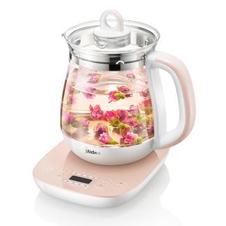Midea\美的电水壶电茶壶养生壶煎药烧汤泡茶GE1505A玻璃保温