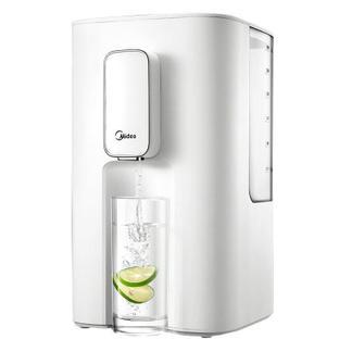美的(Midea)电热水壶 速热迷你型 即热式 6段温控 3L容量 家用台式饮水机MK-HE3001A