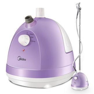 美的(Midea)1.5L 单杆 蒸汽挂烫机 家用手持/挂式电熨斗YG-JA1(紫色)