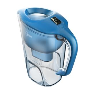 美的净水壶家用净水器过滤水杯便携式厨房自来水过滤器直饮滤水壶QC1751A