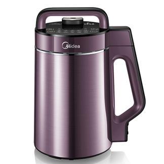 美的(Midea) 豆浆机生磨免滤家用多功能可预约 WHK13W71 浅紫色