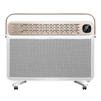 美的(Midea)暖风扇取暖器定时静音暖风机浴室电暖气智能恒温暖炉NDK25-16BR