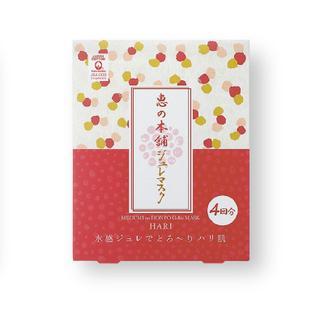 日本惠之本铺野葛根弹力啫喱面膜