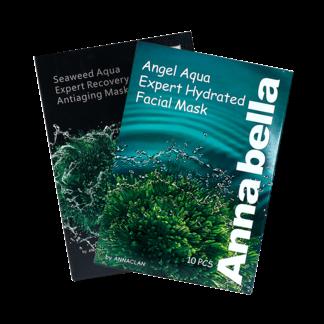 泰国Annabella海藻保湿面膜(黑色版+绿色版)