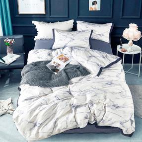 维科全棉活性套件(焕彩云裳)(面料:100%棉,规格:被套 200×230cm、床单 230×250cm、枕套 48×74cm×2)