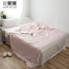 花果果QX系列 简约天丝纯色夏被  亲肤柔软