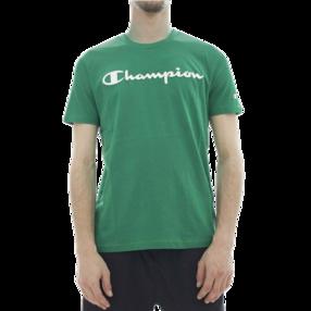 【武商网购全球】Champion男士绿色圆领T恤 212687-GS011