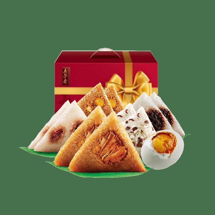 缤纷五芳礼盒粽1480g