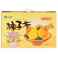 【天顺园店】三和蜂蜜柚子茶礼盒1kg*2(编码:415579)