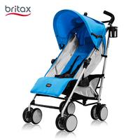 britax/宝得适  佳途超轻便伞车易折叠婴幼儿手推车可平躺婴儿推车  天空蓝B50003