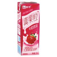 【超级生活馆】蒙牛真果粒草莓牛奶饮品250ml-12盒为1箱(编码:210665)