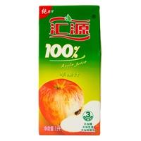 【超级生活馆】汇源100%苹果汁1L(编码:115383)