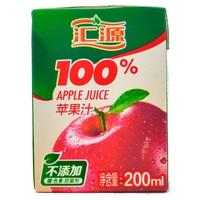 【超级生活馆】汇源100%苹果汁200ml(编码:244912)