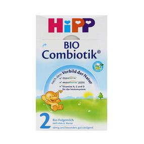 2罐装 德国原装 喜宝Hipp益生菌奶粉2段 600克/罐(6-10个月)效期: 2021年10月 新老包装随机发货