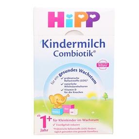 2罐装 德国原装 喜宝Hipp益生菌奶粉1+段 600克/罐(1-2岁)新包装 效期: 2021年12月 新老包装随机发货