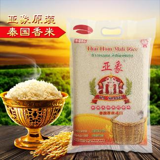 亚象泰国香米5kg香米原装进口 新米 大米 绿色健康