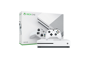 Xbox One S 家庭娱乐游戏机 500GB+Xbox One 专用 Kinect 感应器 黑色+微软 Kinect 适配器