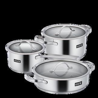 伯尔尼斯  不锈钢厨具套装电磁炉煤气炉通用 BENS-265