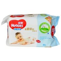 【天顺园店】好奇婴儿柔润湿巾补充装80抽(编码:256863)