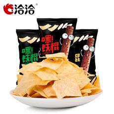 洽洽山药脆片薄片薯片恰恰嘿铁棍网红好吃的休闲零食小吃60gx3袋