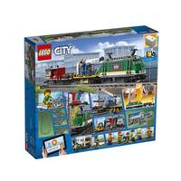 乐高城市系列 60198 货运火车 LEGO积木玩具
