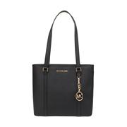 【香港直邮】Michael Kors 迈克·科尔斯 女士黑色皮革手提包 35T7GD4T2L-BLACK