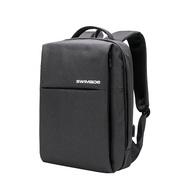 SWIMADE瑞制RZ-9121双肩背包男商务笔记本电脑包15英寸大容量防泼水双肩包欧美时尚休闲书包