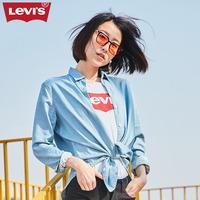 Levi's李维斯女士翻领长袖衬衫39655-0000