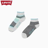 Levi's李维斯男士撞色拼接中筒袜子两双组合装37158-0015