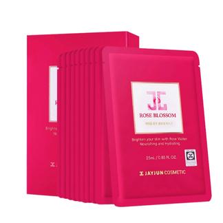JAYJUN杰俊(水光) 红玫瑰面膜 10片/盒