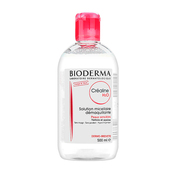 Bioderma贝德玛舒妍洁肤液深层卸妆水粉水500ml温和敏感干性