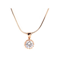 澳洲直邮 CHACOE-imperial crown 施华洛世奇元素水晶 皇冠吊坠 简约时尚气质百搭  PD2928  0.9*1.6cm