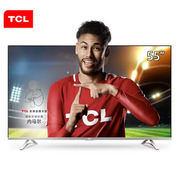 TCL D55A620U 55英寸 4K超高清 14核HDR智能LED液晶电视