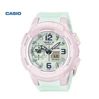 casio卡西欧女表BABY-G活力马卡龙系列BGA-230PC运动智能手表女防水