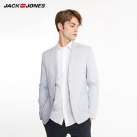 杰克琼斯春季男款多色商务休闲舒适透气西服E|219108517
