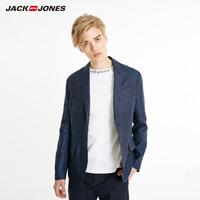 杰克琼斯春季男士商务西装外套E|219108505