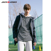杰克琼斯曼城足球俱乐部授权春男中长款外套F|219121568