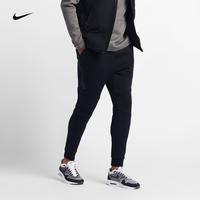 NIKE耐克男长裤多口袋保暖针织修身束腿小脚运动裤805163-010