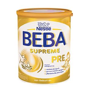 欧洲直邮德国雀巢贝巴/Beba SURREME**尊版pre段 800g/罐