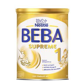 欧洲直邮德国雀巢贝巴/Beba SURREME**尊版1段 800g/罐