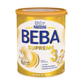 欧洲直邮德国雀巢贝巴/Beba SURREME**尊版3段 800g/罐