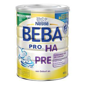 欧洲直邮BEBA贝巴HA抗过敏婴儿奶粉pre段 800g/罐