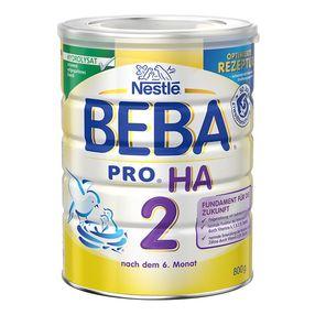 欧洲直邮BEBA贝巴HA抗过敏婴儿奶粉2段 800g/罐
